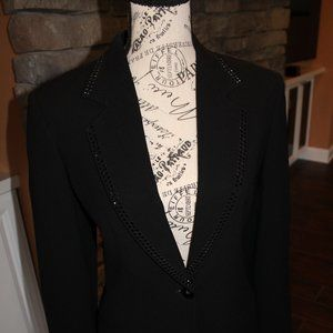 Formal Black Blazer